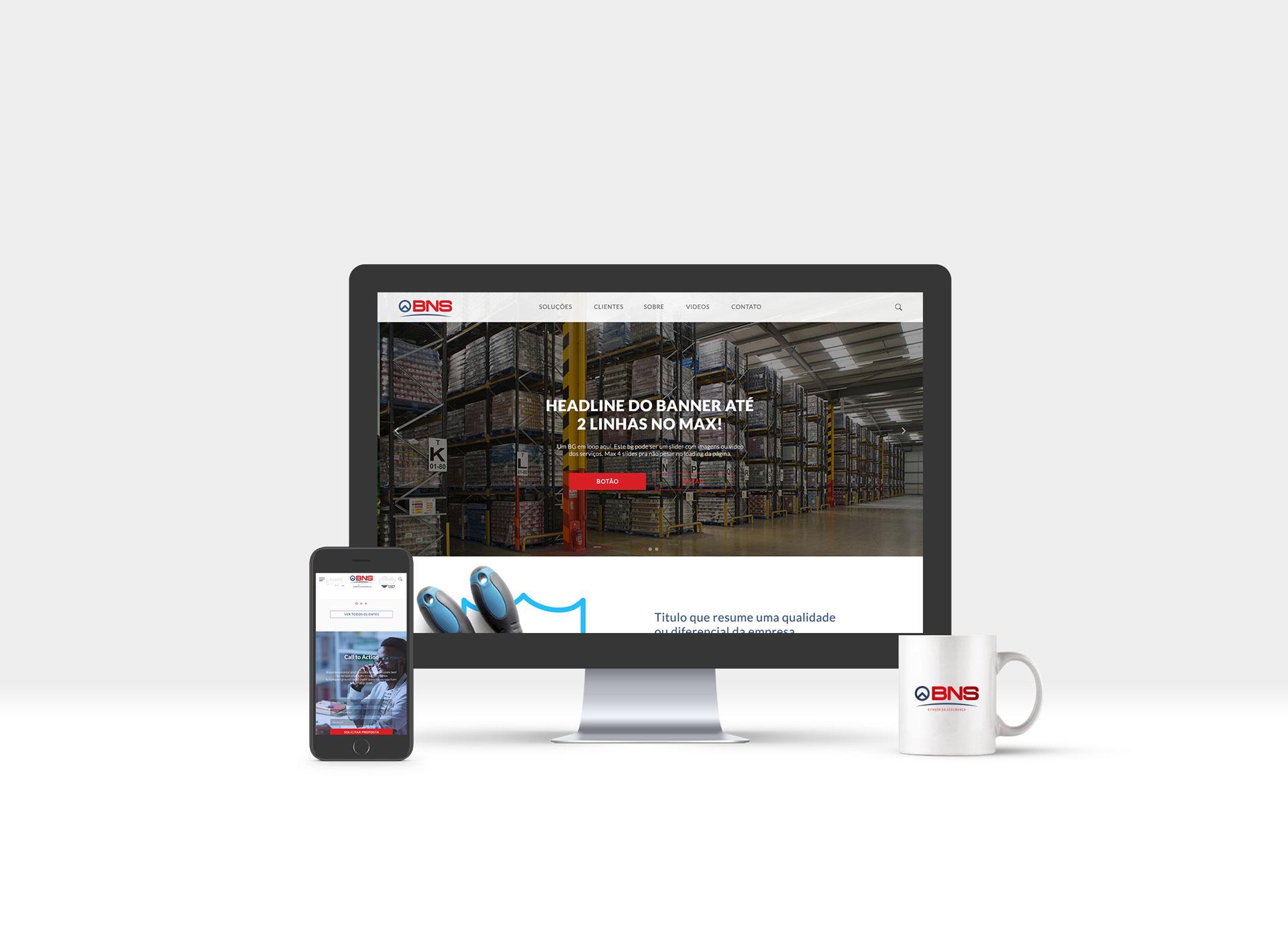 Website BNS Soluções