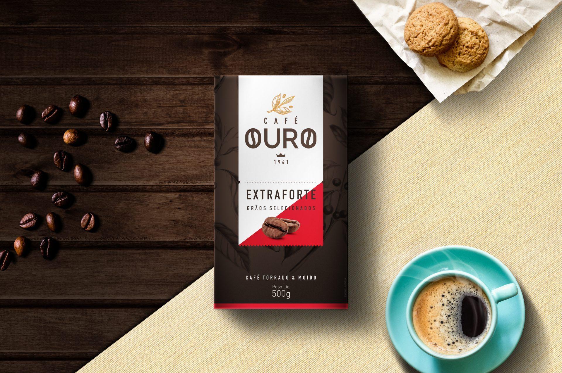 CASE – MARCA E EMBALAGENS | CAFÉ OURO